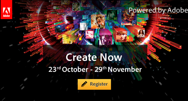 Create now: 23rd October - 29th November