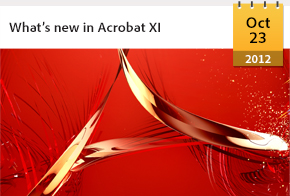 What's new in Acrobat XI